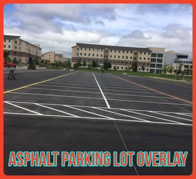 Asphalt Parking Lot overlay