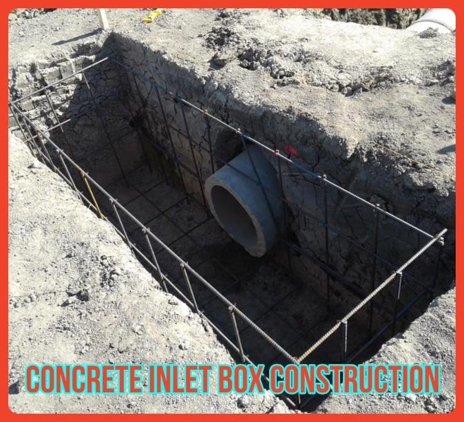 Concrete Inlet Box Reconstruction Dallas